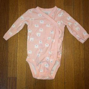 Baby Sleeping Onesie Size 6M